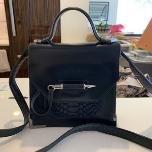 Mackage Keeley crossbody bag in black leather